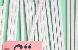 "6"" Paper Lollipop Sticks"