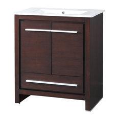 """Tennant Brand - Preston Modern-Style Bathroom Sink Vanity, 30"""" - Bathroom Vanities and Sink Consoles"""