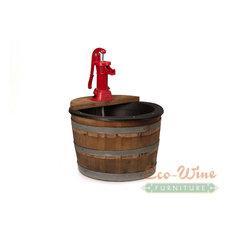 1/2 Wine Barrel Fountain