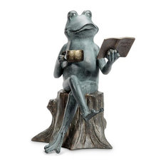 SPI - Joy Of Reading Garden Sculpture - Garden Statues and Yard Art