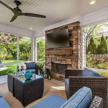 Beverly Hills, MI Kitchen and Porch Addition