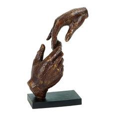 Fingertips Sculpture