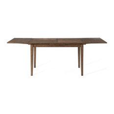 Bassett Mirror Paxton Counter Height Table In Medium Brown Finish