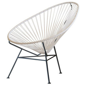 Classic Handwoven Acapulco Chair, White