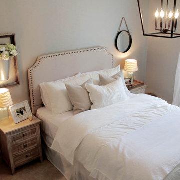 COZY COTTAGE GUEST BEDROOM