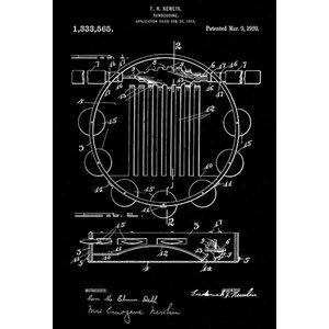 Musser O 1947 Marimba C Patent Art Poster
