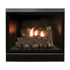 """Tahoe Clean Face Direct Vent MV Deluxe 36"""" Fireplace, Natural Gas"""