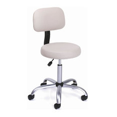 Boss Office Products - Adjustable Height Ergonomic Stool w Beige Back u0026 Seat Cushions - Bar  sc 1 st  Houzz & Ergonomic Bar Stools u0026 Counter Stools | Houzz islam-shia.org
