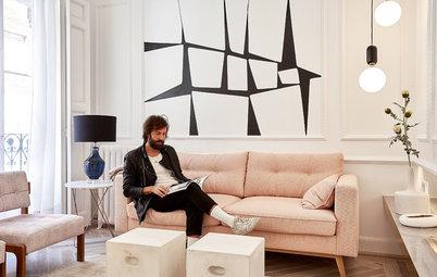 Antes y después: Un piso de 48 m² ecléctico y refinado