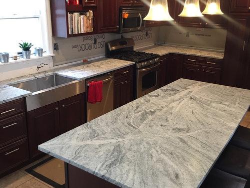 Backsplash For Dark Cabinets And Light Granite