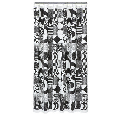 eclectic shower curtains by marimekko