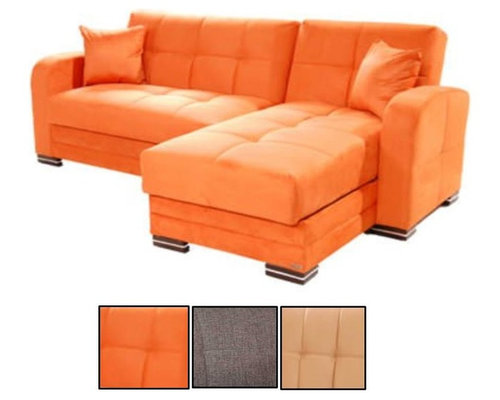 Modern convertible sofa beds designed for urban living and small spaces - Small space convertible furniture image ...