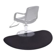 Costway Black Semi Circle 5'x3'1/2'' Salon Anti Fatigue Floor Mat Supplier