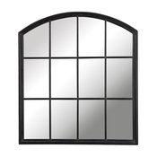 Uttermost Lyda Aged Black Arch Mirror