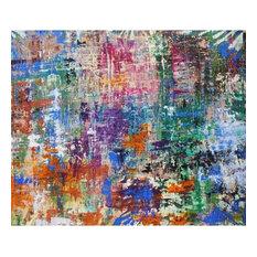 """JAPANESE GARDEN"", Acrylic Painting"