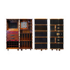 Manhattan Trunk Bar Contemporary Decorative Trunks
