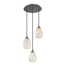Country cottage pendant lighting houzz destination lighting 583 220 gl1034 3 light pendant light with mosaic glass aloadofball Images