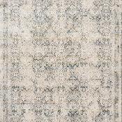 "Teal/Orange Theia Area Rug by Loloi, Natural/Ocean, 11'6""x16'"