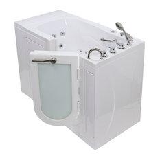 Monaco Acrylic Hydro Massage Walk-In Bathtub with Right Outward Swing Door, Ther