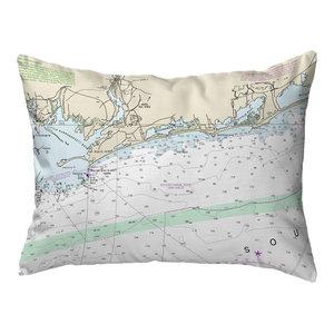 Betsy Drake Fishers Island Ri Nautical Map Noncorded