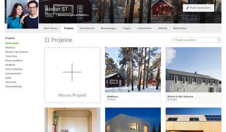 Für Experten: Quickstart-Anleitung für den Website Designer von Houzz