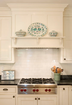 """21"""" deep wall cabinets flanking the stove-- WWYD?"""
