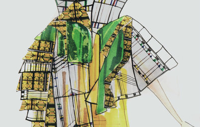 Frank Lloyd Wright Inspires New Fashion Designers