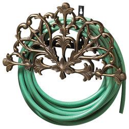 Mediterranean Garden Hose Reels by Whitehall Products
