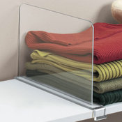 Acrylic Shelf Divider