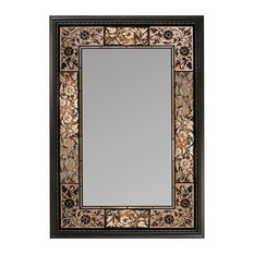 Head West, Inc. - French Tile Rectangle Mirror, 25.5