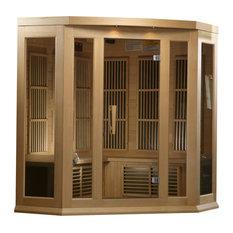 Maxxus 3 Person Corner Low EMF Far Infrared Carbon Heater Sauna