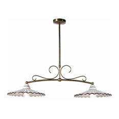 Nonna Bice 2-Lamp Pool Table Light