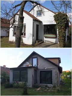 50er Jahre Haus Kernsanierung