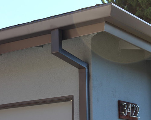 Fascia Wrap Seamless Angle Faced Gutters Box Downspouts