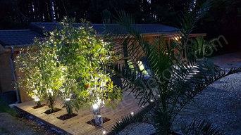 Éclairer une terrasse avec du spot LED