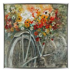 The Bicycle IV Acrylic on Canvas Art Decor