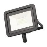 Yarm Outdoor LED Slimline Flood Light, Black, 20W