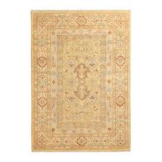 "ALRUG Handmade Beige Oriental  Oushak Rug, 4' x 5' 9"""