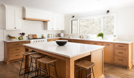 Kitchen of the Week: White and Wood for a Busy Family of 5