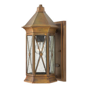 Brighton Outdoor Wall Light, Small