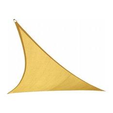 Gale Pacific USA 473792 Coolaroo Coolhaven Shade Sail Triangle 12' Sahara