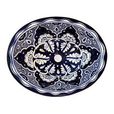 Traditional Ceramic Talavera Sink