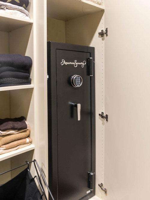 Closet Gun Safe Ideas, Pictures, Remodel and Decor