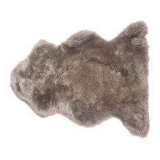 Veruca Modern Pebble Sheepskin Pelt Fur Rug