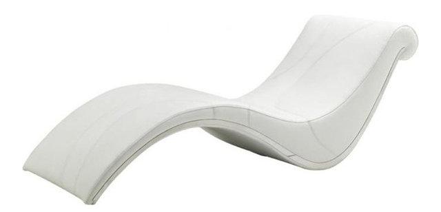 modern white lounge chair. Modern White Leather Leisure Lounge Chair