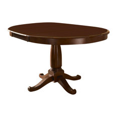 """A-America Desoto 60"""" Oval Dining Table With 18"""" Leaf"""