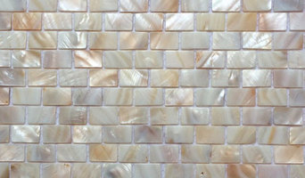 "12""x12"" Natural Varied Mother of Pearl Minibrick Tile, Polished, Single Sheet"