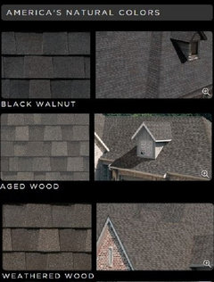 You Should Keep In Mind That The Black Shingle Roof Will Store More Heat From Sun And Could Increase AC Electric Costs Summer Months