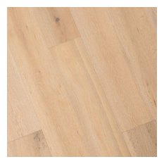 French Oak Prefinished Engineered Wood Floor, Antique White, 1 Box