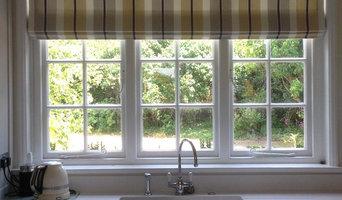 Designer Striped Kitchen Blinds